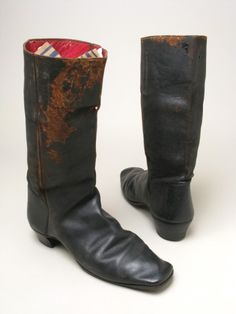 Gents' Leather Boots, British, 1852.