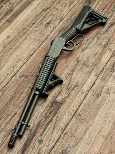 Tactical Lever Action by SupraMK86, via Flickr