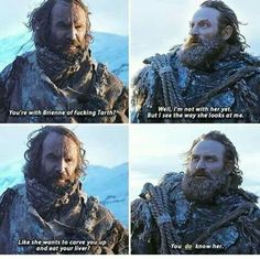 Tormund and The Hound