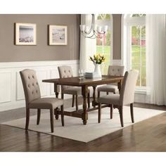 Good 5 Pc Montebello Dining Set For The New House