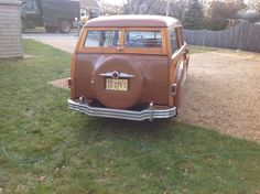 1949 Plymouth Other wood