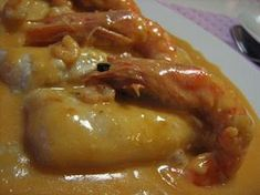 As Minhas Receitas: Lombinhos de Pescada com Molho de Camarão Fish Recipes, Seafood Recipes, Cooking Recipes, Healthy Recipes, Recipies, Seafood Dinner, Fish And Seafood, Portuguese Recipes, Food Goals