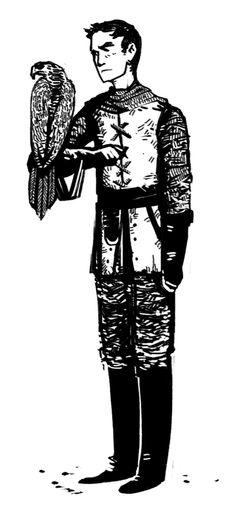 Stannis & Goshawk from Godsgrief