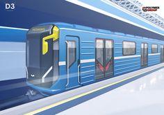 Minsk metro on Behance
