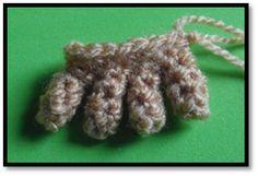 Patrones Amigurumi - Tutoriales: Cómo tejer brazos y manos amigurumi