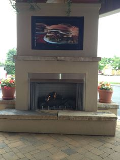 42 Outdoor Gas Fireplace System Outdoor gas fireplace and Gas