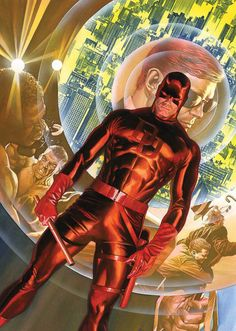 Alex Ross Marvel 75th anniversary 'Daredevil' #1 variant