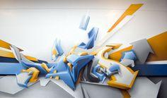 Daim es un graffitero Alemán con uno de los mejores estilos personales del mundo de el graffiti. Daim consigue dar un efecto volumetrico/3d impresionante en cada una de sus obras, juega con los colores y las sombras como pocos artistas saben hacerlo. Tras comenzar con el graffiti, Daim también aplicó su técnica a la escultura y diseño gráfico con numerosas colaboraciones en galerías y trabajos de publicidad.