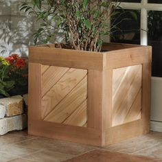 Nantucket Cedar Planter Box