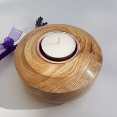 Items similar to Woodturning, Tea Light Candle Holder, Handcrafted Figured Ash Wood on Etsy Wood Turning Projects, Wood Projects, Tealight Candle Holders, Candleholders, Welding Art, Wooden Gifts, Woodturning, Tea Light Holder, Wood Crafts