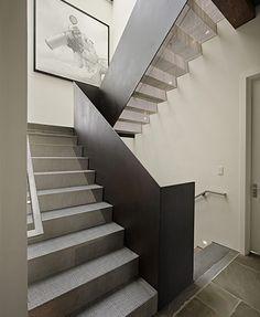 Fab, modern staircase modern architecture deforest modern house design Spotted@llwdesign
