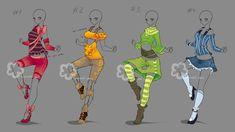 Colorful Outfits #19 - sold by Nahemii-san.deviantart.com on @DeviantArt