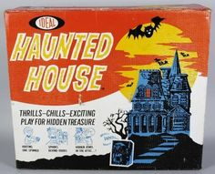 Patrick Owsley Cartoon Art and More!: 1962's HAUNTED HOUSE from IDEAL!