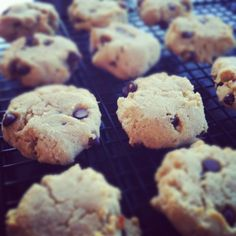 Almond and coconut flour chocolate chip cookies