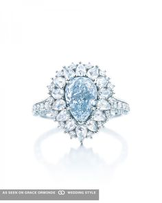 tiffany co pear shaped diamond engagement ring