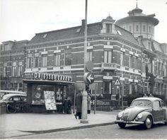 Hoek Klanderijstraat - Zuiderplein, 1956. Bron: Historisch Centrum Leeuwarden - Beeldbank Leeuwarden