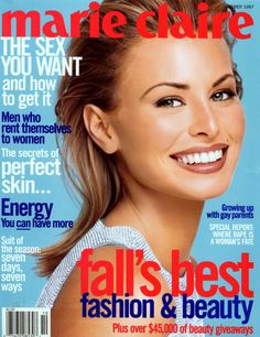 Niki Taylor - Marie Claire Oct 1997
