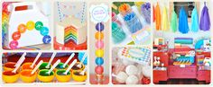 Rainbow Party Ideas & Supplies all in one place!!