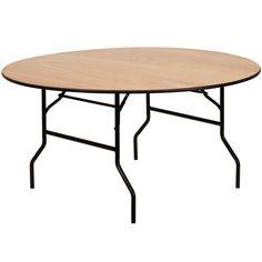 Natural Wood folding table YT-WRFT60-TBL-GG