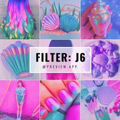 Colorful pink pastel Instagram theme. This is filter J6 in the #PastelPack in @preview.app. About filter J6: • it is a super saturated filter • awesome for hard core pastel colors • with a little pink tint Use photos with purple, pink and blue colors. It will make them POP and CONTRAST! Have fun designing your colorful Instagram theme!
