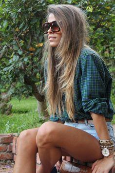 my long hair!!
