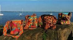 Wayuu Bags Bags, Handbags, Dime Bags, Lv Bags, Purses, Bag, Pocket