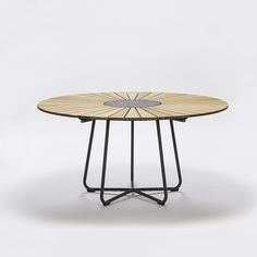Round outdoor table HOUE