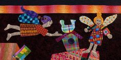 from quilt by Mary Lou Weidman