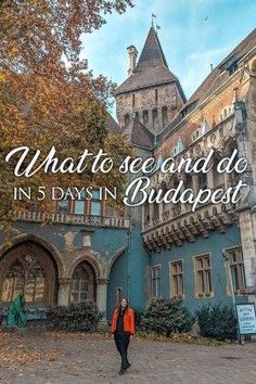 5 days in Budapest: The perfect Budapest itinerary to help you plan your next trip to Budapest. It includes the best things to see in Budapest. Europe Destinations, Europe Travel Guide, Travel Guides, Travel Hacks, Travelling Europe, Europe Packing, Backpacking Europe, Packing Lists, Travel Info