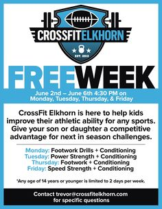 flyer ideas | Ideas for CROSSFIT flyer | Pinterest | Crossfit