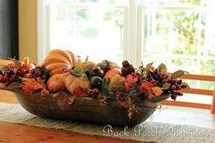 Love this dough bowl arrangement!