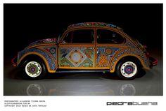 Vochol:Huíchol Art on Wheels by SmithsonianNMAI, via Flickr