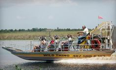 Groupon - One-Hour Airboat Eco Tour for Two or Four from Airboat Rides at MIDWAY (Up to Half Off) in Christmas. Groupon deal price: $40.00