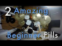 2 Amazing Beginner Drum Fills - Beginner Drum Lesson | Drum Beats Online