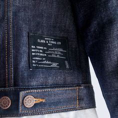 Brook Italian Selvedge Denim Jacket