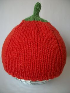 Baby Pumpkin Hat Hand Knitted 06 612 month by thekittensmittensuk, Pumpkin Hat, Baby In Pumpkin, Baby Hands, Knitting Accessories, Little Ones, Hand Knitting, Knitted Hats, Beanie, Halloween