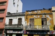 Downtown buildings,  Veracruz, Mexico