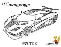 82 Best Cool Super Car Coloring Pages images in 2019