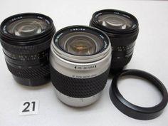 5L346HA TOKINA 28-80mm F3.5-5.6 レンズまとめて3本ジャンク_画像1