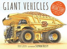 Giant Vehicles - HC 9780763674045 Available August 2014 Age 5-9