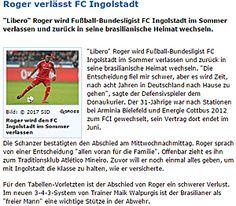 Clube alemão anuncia saída de Roger Bernardo, que tem acordo com o Atlético . Noticias / Rádio Itatiaia - A Rádio de Minas