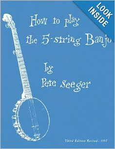 FOR ADULTS: This basic manual was written by Pete Seeger at a time when there was no information for aspiring banjo players. It includes melody line, lyrics and banjo accompaniment and solos notated in standard form and tablature. Chapters cover material such as: a basic strum, the fifth string, hammering on, pulling off, double thumbing, and much more. Pair with The Power of Song (PG-13) for a unique gift for the aspiring banjo player.
