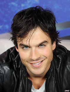 Oh Ian, you're cute!