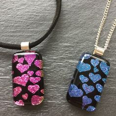 #mothersday #hearts #love https://www.etsy.com/uk/listing/490550234/sparkly-heart-necklace-mothers-day-gift
