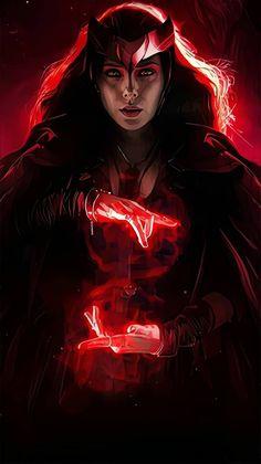 Disney Marvel, Marvel Art, Marvel Dc Comics, Marvel Avengers, Marvel Women, Marvel Girls, Wanda Marvel, Marvel Background, Scarlet Witch Marvel
