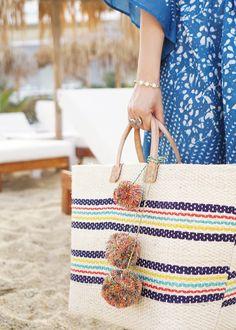 Summer Style / Mar Y Sol Straw Tote