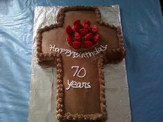 Youth pastor leaving for another church. Reception cake ...