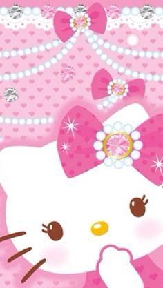 O Kitty Backgroundso Kitty Wallpaper Cute Backgrounds Wallpaper Backgrounds Iphone Wallpaper Phone Backgrounds Sanrio Wallpapero Kitty