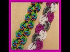 "Bracelet Rainbow Loom ""Forme"" Anneaux - YouTube"