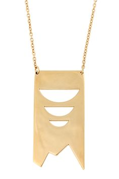 Kelly Wearstler Aperto Pendant Necklace #kellywearstler